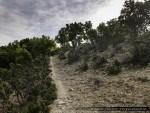 Il sentiero che scende verso Pietra Cappa, Sentiero Italia ©Giancarlo Parisi 2015
